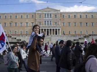 Yunanistan'da 24 Saatlik Grev Hayatı Felç Etti
