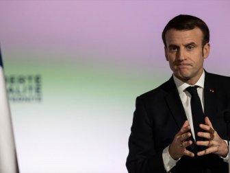 Fransa Cumhurbaşkanı Macron'dan Sert Suriye açıklaması