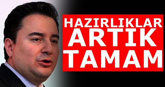 Ali Babacan partisinin kuruluşunu bakın nerede ilan edecek?