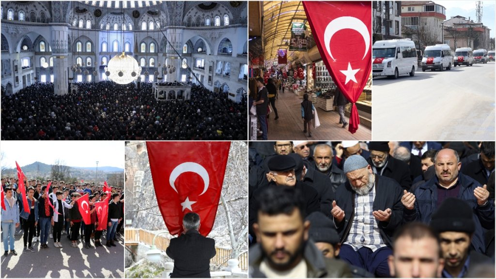 Bütün Türkiye Mehmetçik İçin Tek Yürek Oldu
