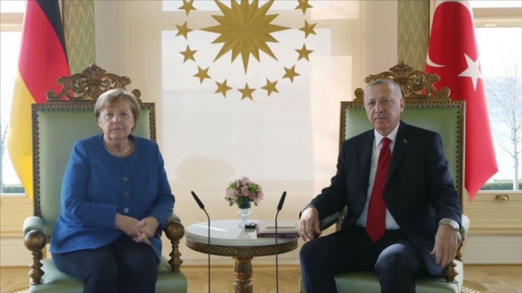 Erdoğan Ve Merkel'den İdlib Görüşmesi