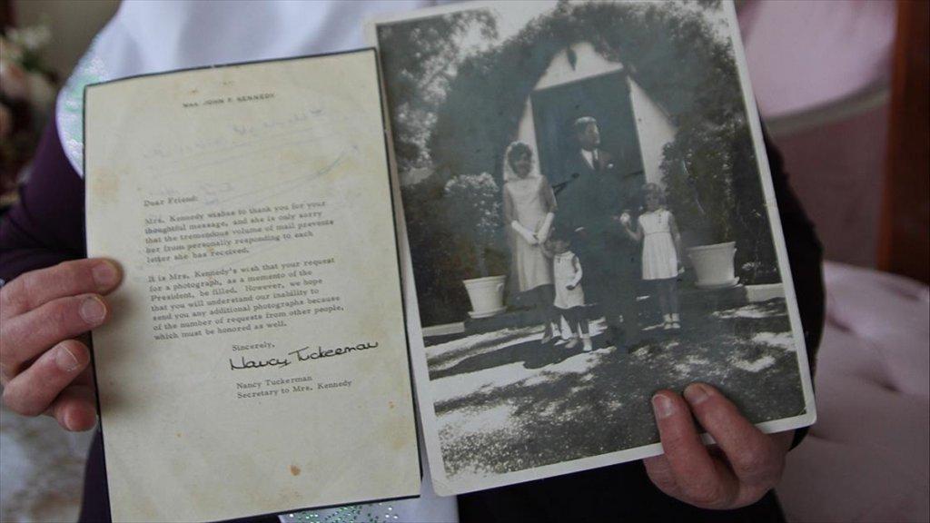 First Lady Kennedy'den Gelen Mektubu 57 Yıldır Saklıyor