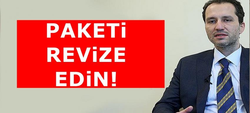 Fatih Erbakan'dan Hükümete iş dünyasına destek çağrısı