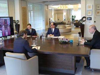Erdoğan, Yeni Yargı Reformu ve İnfaz Yasası İstişare Toplantısı Gerçekleştirdi