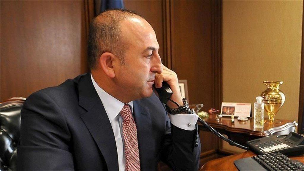 Çavuşoğlu,  Ivica Dacic ile Telefonda Görüştü