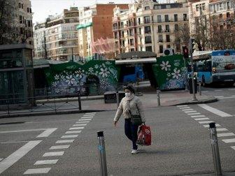 İspanya'da Kovid-19'dan Ölenlerin Sayısı 4 Bini Geçti