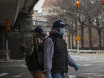 New Yorklulara Dışarı Çıkarken 'Yüzünüzü Kapatın' Çağrısı