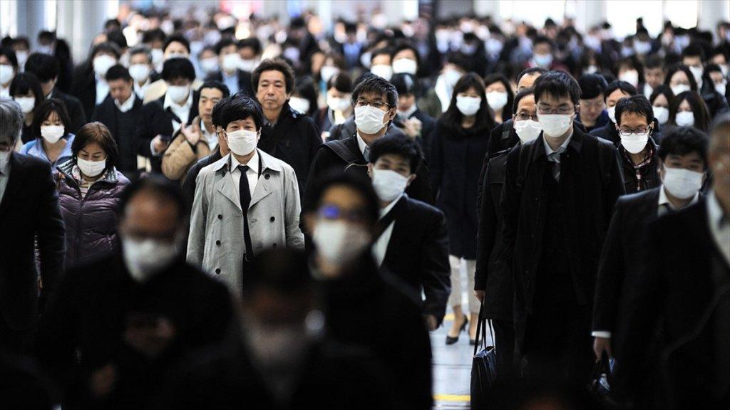 Japonya'da koronavirüs vaka sayısı 24 saat içinde tırmanışa geçti