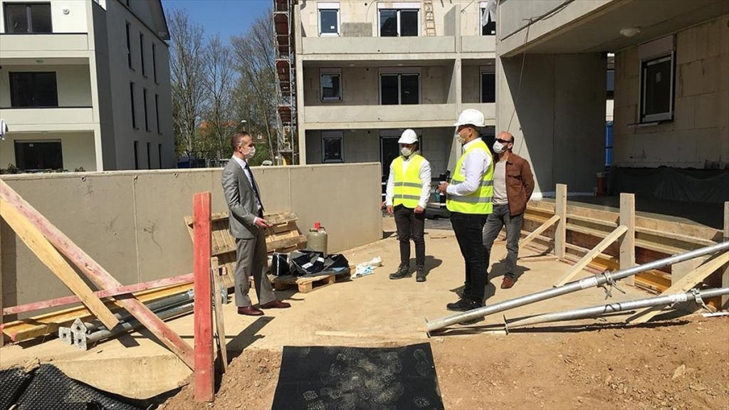 Almanya'da Çalışan Türk İşçilerden Anlamlı bir destek