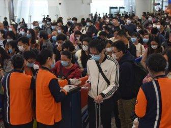 Çin'in Vuhan Kentinden On Binlerce Kişi Ayrıldı