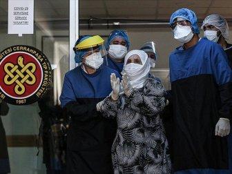 93 Yaşında Yeni Tip Koronavirüsü Yenen Hasta Taburcu Oldu