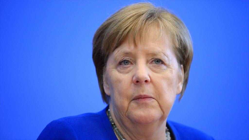 Almanya Başbakanı Merkel'den bir ilk! Kovid-19 için acil olarak duyurdu