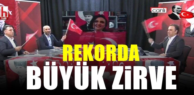 Halk TV durdurulamıyor! Fatih Altaylı Haklı çıktı! Ve 1.oldu