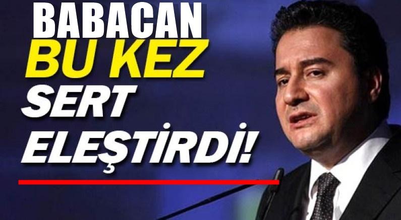 Deva Partisi Lideri Ali Babacan'dan AKP ve MHP'yi kızdıracak şok soru