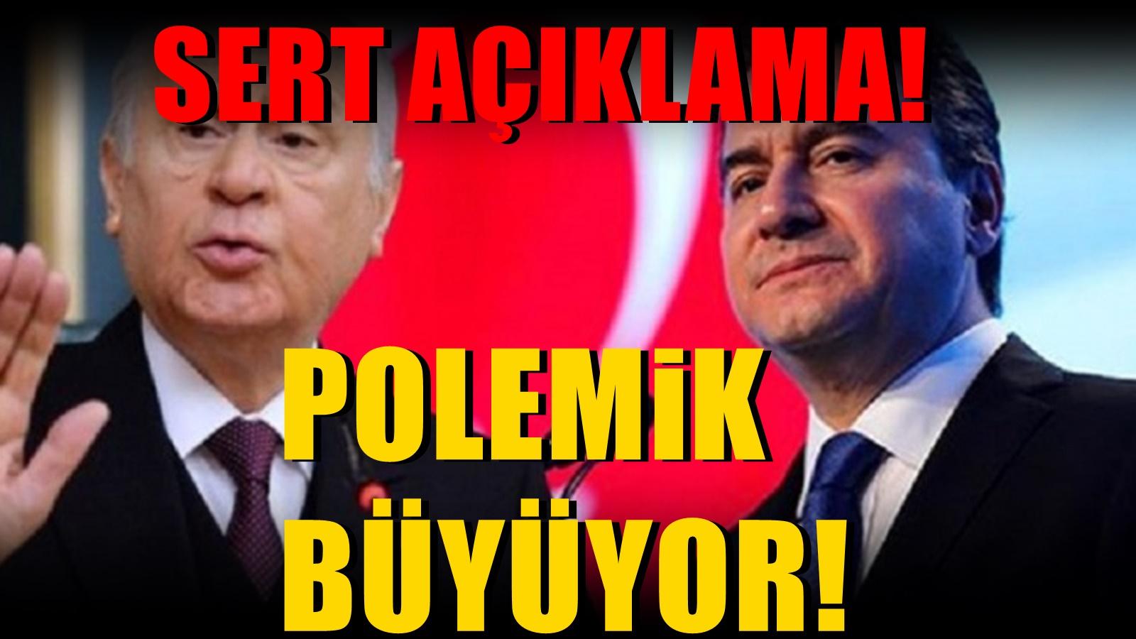Ali Babacan'ın Deva Partisi Bahçeli'nin Sözlerine 2.bir yanıt verdi! Ağır cevap