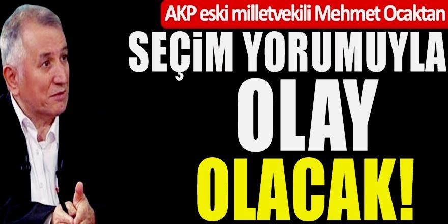 Eski AKP'li Vekil AKP'yi Uyardı! Baskın Seçimde Sonuç Beklediğiniz gibi olmayabilir