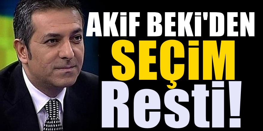 Erdoğan'ın Eski Danışmanı Akif Beki'nin Ali Babacan yorumu olay olacak!