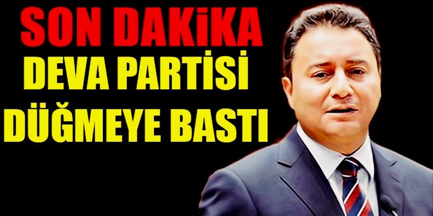 Seçime Girmesi İstenmeyen Ali Babacan'dan Flaş Karar! Düğmeye basıldı