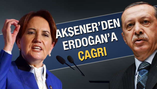 İyi Parti lideri Meral Akşener'den Erdoğan'a 4 maddelik teklif!