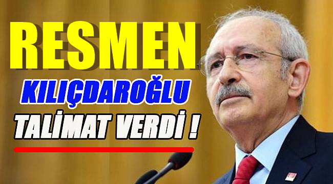 CHP'de KIrmızı Alarm! Kılıçdaroğlu resmen talimatı verdi