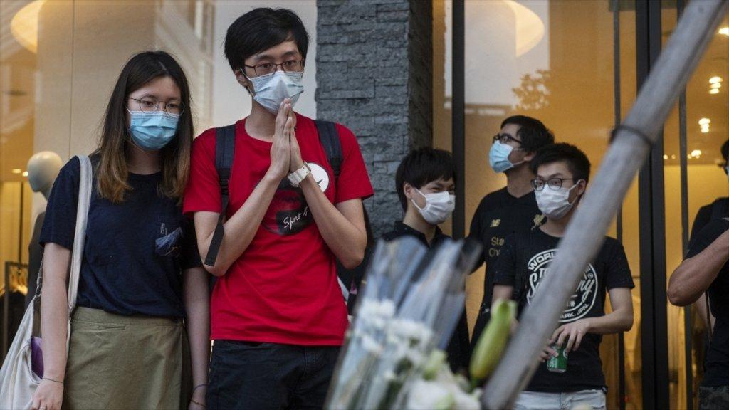 Çin'in Hong Kong bölgesinde Önlemlerle ilgili yeni uzatma