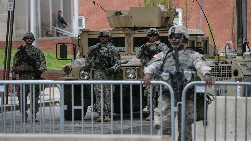 Pentagon Washington Yakınlarındaki güvenlik kuvvetlerini geri çekme kararı aldı