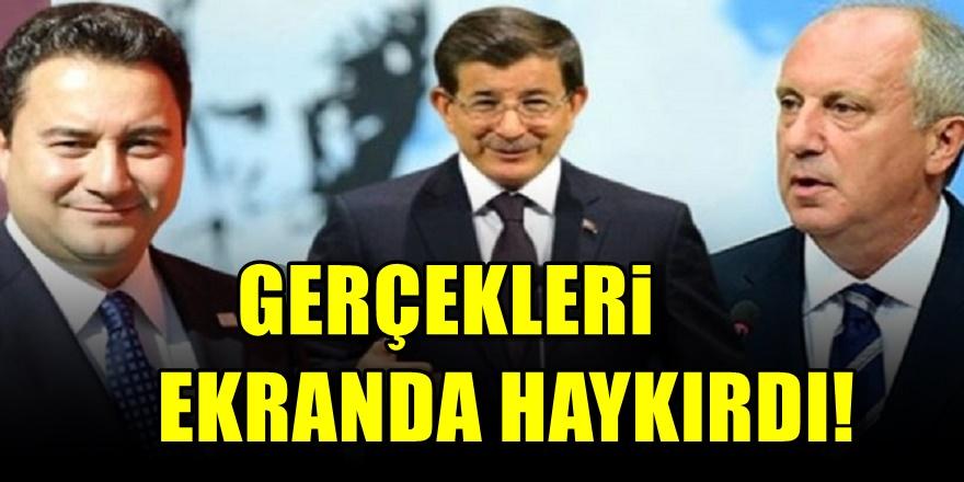 Muharrem İnce'den Ali Babacan ve Davutoğlu'na şok Suçlama! İmzaları var...