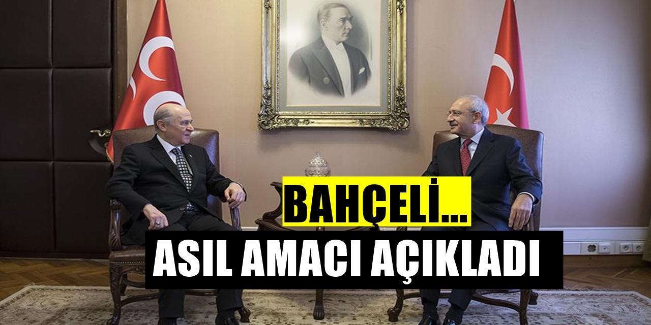 Bahçeli bombaladı! Kılıçdaroğlu'nun amacını açıkladı