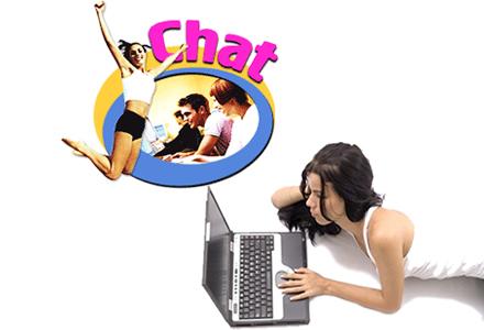 Görüntülü sohbet ile internette vakit geçirmek çok keyifli!