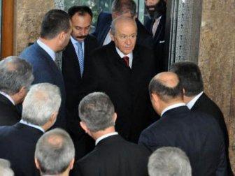 MHP Lideri Devlet Bahçeli Konya'da