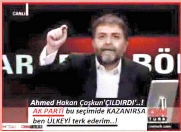 AK Parti kazandı, ülkeyi terk edecek mi? Ahmet Hakan o iddiaya yanıt verdi!