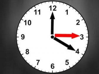 Ve iki hafta sonra da olsa saatler geri alınabildi!