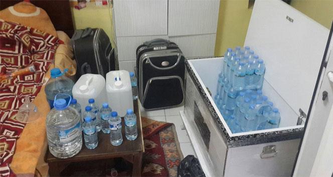 İzmir'de Sahte içki skandalı sürüyor!
