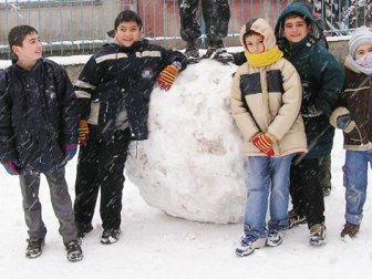 Yılın ilk kar tatili!