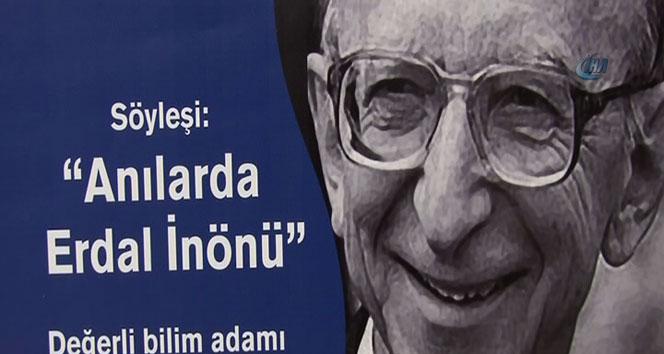Başkan Hayri İnönü amcası Erdal İnönü'yü anlattı