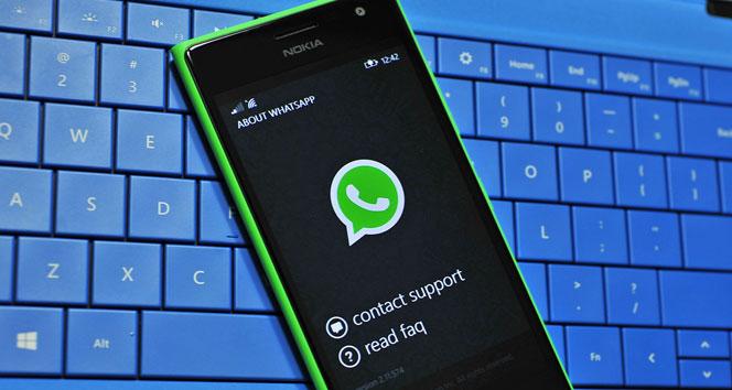 Windows Phone için WhatsApp güncellemesi