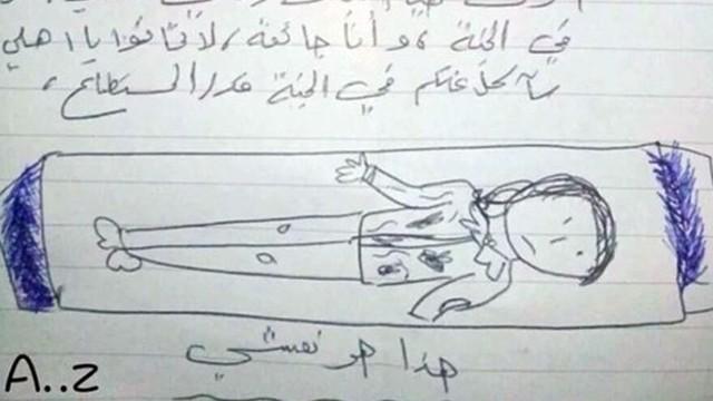 Suriyeli kızın vasiyeti yürekleri dağladı