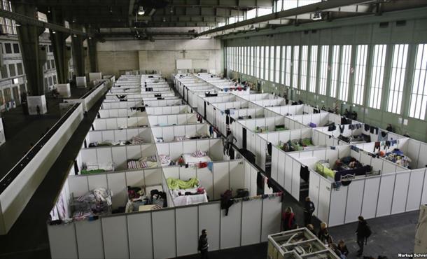 Almanya'da kayıtlı sığınmacı sayısı 1 milyon