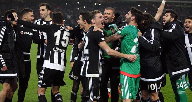 Beşiktaş 2-1 Galatasaray - Maç özeti
