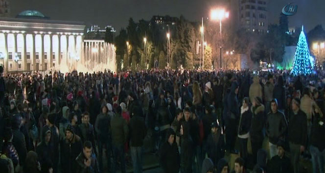 Azerbaycan, 2016'yı coşkuyla karşıladı