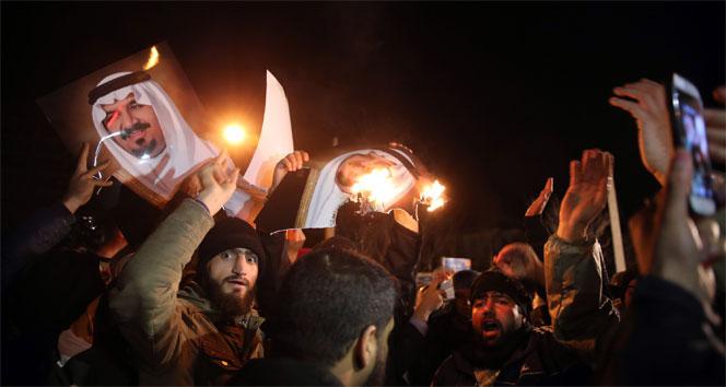 Suudi Arabistan İran'la diplomatik ilişkileri kesti