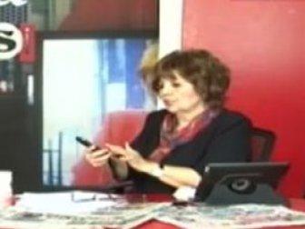 Halk tv'de Ayşenur Arslan'ı çıldırtan reji!