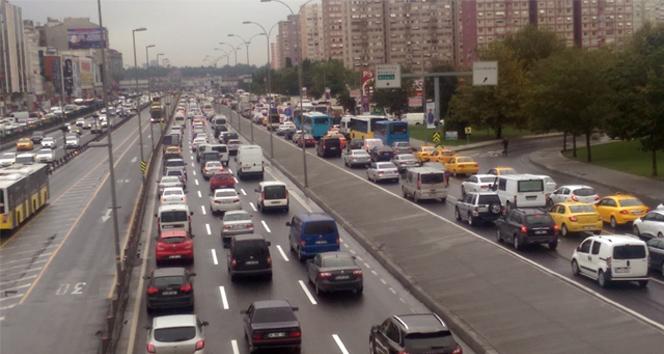 İşte Türkiye'de ki trafikte olan araç sayısı!