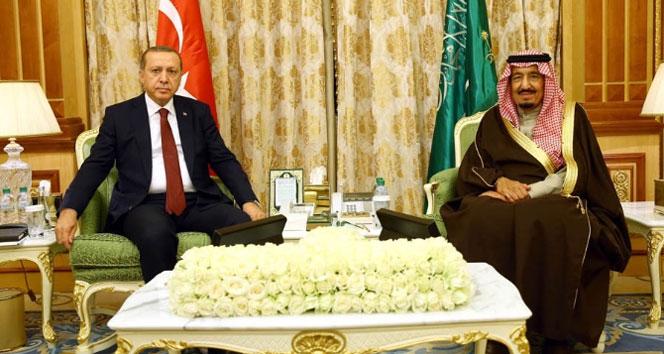 Suud'dan Erdoğan'a taziye telefonu