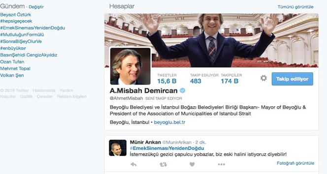 Emek sineması Twitter'da TT oldu