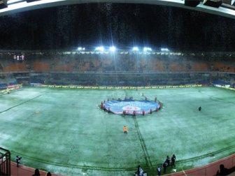 Fatih Terim Stadyumu karla kaplandı