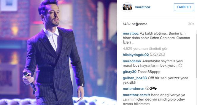 Murat Boz'dan hayranlarına müjde