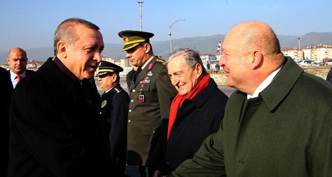 Son görüşmesini Cumhurbaşkanı Erdoğan'la yaptı