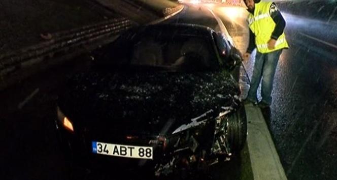 Caner Erkin trafik kazası geçirdi