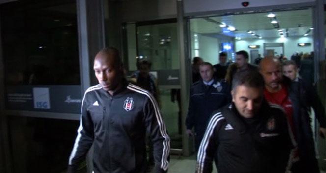 Beşiktaş gecikmeli olarak İstanbul'da